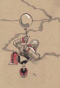 Robot-&-ballon
