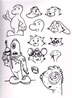 Characher-sketch-Doodle-Dum