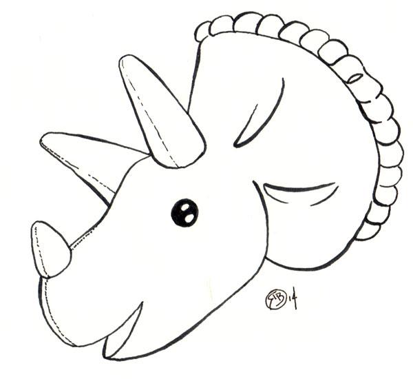 Triceratops-Head