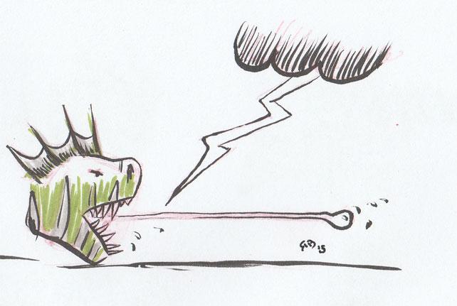Gyscooter-tongue