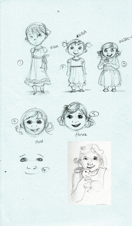 Audrey-Frozen-Sketches